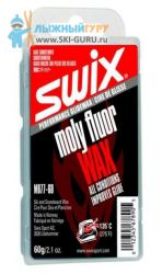 Парафин SWIX Moly Fluoro Base Wax кондиционер 60 грамм